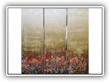 Burst of Spring - 60x60 (triptych)